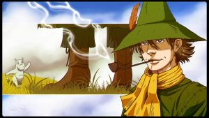Snufkin and Moomin 2013 by Bhansith