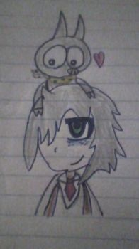 Tomoko and P-Chan? by TheSyFyFan