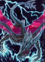 ACEO Night Lightning by Sysirauta