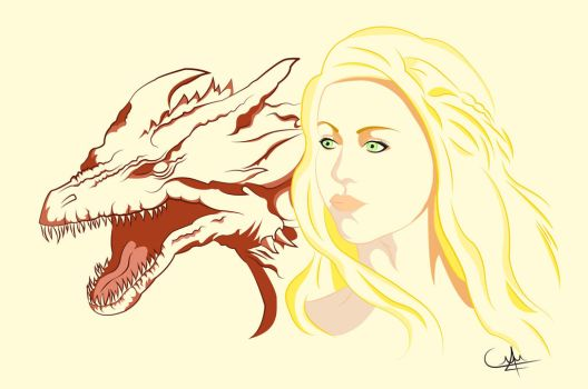 Mother Of Dragons by SweetnessOverloaded
