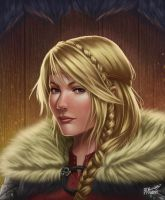 Astrid- How to Train Your Dragon by BDBonzon