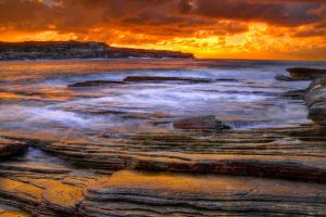 Flowing over rock layers by Kounelli1