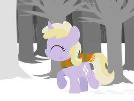 Dinky in the Snow by postcrusade