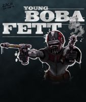 Young Boba Fett by ZachBobBob