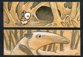 Little Brown Sketches 2 by ursulav