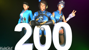 200 Watchers Milestone by KyleC65