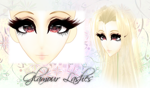 [MMD] Glamour Lashes - DL by DeidaraChanHeart
