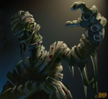 "SPEED PAINT ""The Mummy"" by Grimbro"