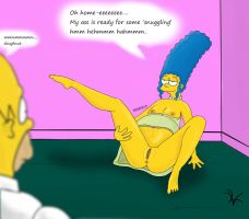 Caught in the Act! (Part 3 of 4)(Simpsons Vore) by LordVIP3R