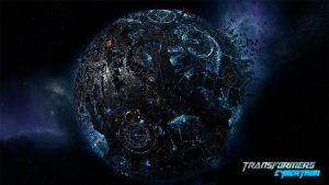 Cybertron planet by JJasso