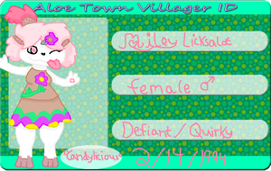 'The Towns licker' - Aloe town Miley app by Silverwing101