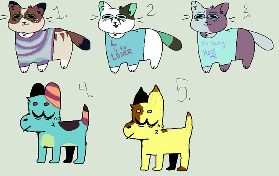 Garbage babies for 10 points each by SamPanther