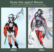 Before and After Meme by Cecaangyal