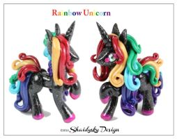 Rainbow Unicorn by ShaidySkyDesign