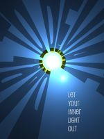 Let your inner light out by Anton42