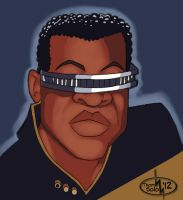 Jordie LaForge by thomsolo