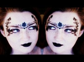 Rorschach Sisters by sweetgreychaos