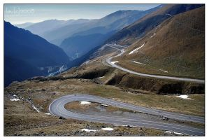 Spiral Road to the Top of the World by vendoritza