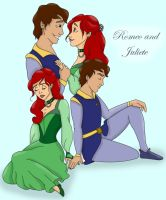 Romeo and Juliet - Colour by strangegirl0
