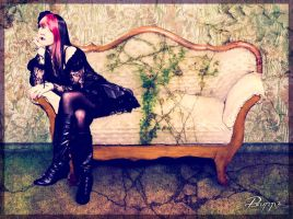 Gothic Girl by Psunna