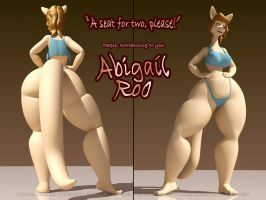 Abigail Roo by Anthro-anim