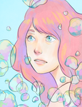 Bubbles by x-astral