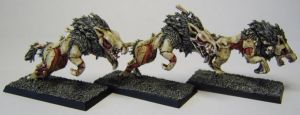 MORDHEIM Undead Wolves by FraterSINISTER