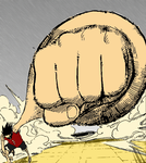 Luffy Punch third Gear by Potalas