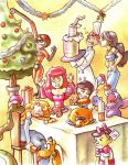 Disney Christmas by Gigei