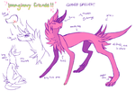 SPECIES CONCEPT!! - imaginary friends by FlSHER