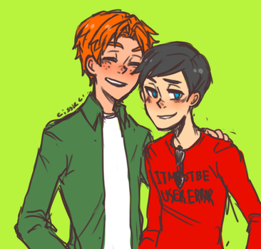wally and dick by davesexual