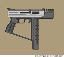 Usquok assault handgun by Robbe25