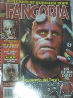 hellboy on cover! by Devilgirl007