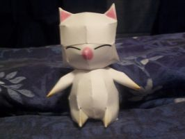 Moogle Papercraft by Neji23