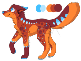 Summer - Design 1 Auction (closed) by SwarThylacine-Adopts