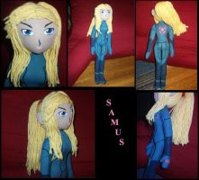 Samus Doll Commission by thesqueaky