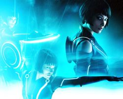 Tron: Legacy. Quorra by StalkerAE