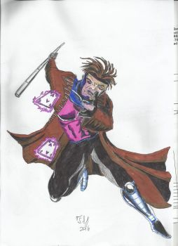 Gambit colored by ShadowManGMR