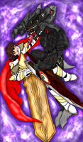 Night Dragon vs Draco by Acelious by Drakhand006