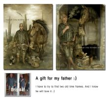 My dad by CindysArt