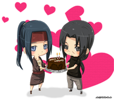 Birthday gift for kaumalat92 by Uchiha-Umeko