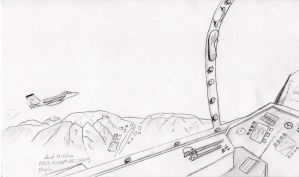 F-15s Over Afganistan by Fiery-Mox