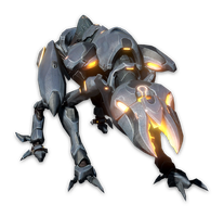 Halo 4 Promethean Crawler by KingFicus