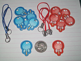 Lollipop Cellphone Charms by Sweet-Ribbons