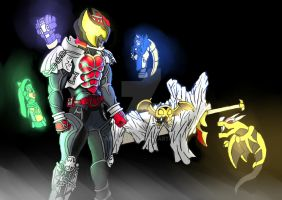 Kamen Rider Kiva by ArkAges