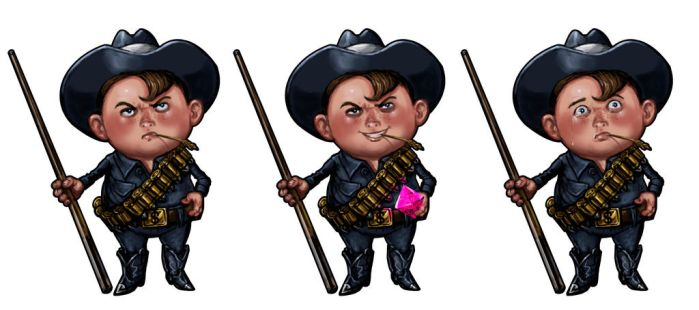 Billy The Kid by Hungrysparrow