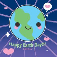 Happy Earth Day by cherryclover