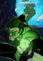 Green Lantern by juanFoo