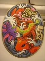 paint on wood by blksun