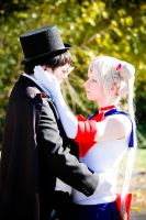 Tuxedo Mask and Sailor Moon by The-Prez